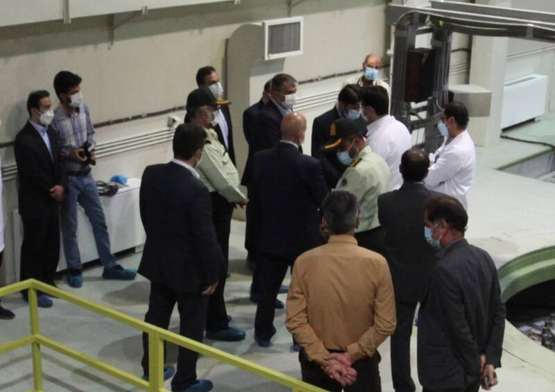 رئیس سازمان انرژی اتمی از مرکز بینالمللی آموزش هستهای ایران بازدید کرد