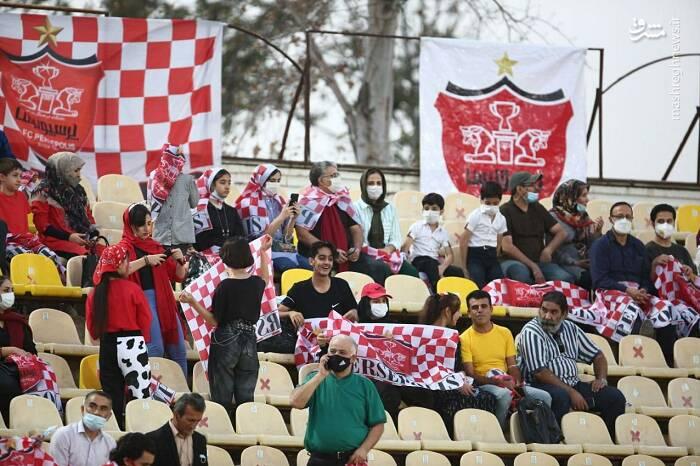 عکس/ هواداران پرسپولیس در تاجیکستان