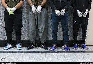 زمینگیر شدن ۲ گروه از سارقان مسلح در تهران