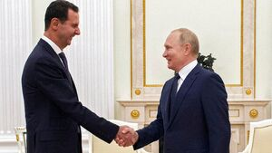 سفر اسد به مسکو