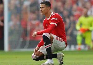واکنش رونالدو به شکست منچستر در اولین بازی اروپایی