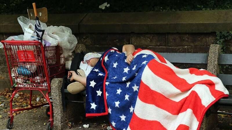 آمريكا،فقر،ميزان،درصد،افزايش،تأثير،منتشر،كشور