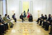 ظرفیتهای ارزشمندی برای گسترش مناسبات بین تهران و اسلامآباد وجود دارد/ تشکیل حکومت فراگیر و ممانعت از مداخلات خارجی کلید حل مشکلات افغانستان است