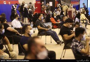 عکس/ واکسیناسیون شبانهروزی بزرگراه کردستان