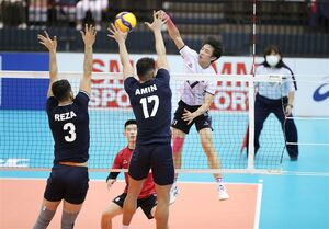 کرهجنوبی هم مقابل والیبال ایران تسلیم شد