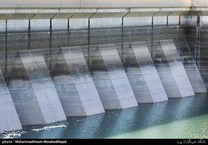 عکس/ افت ذخایر آب در سدهای تهران