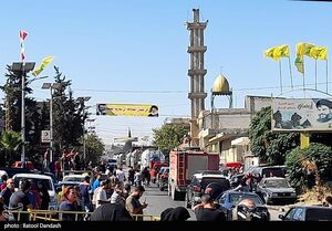تصاویر دیدنی از ورود تانکرهای حمل سوخت به لبنان