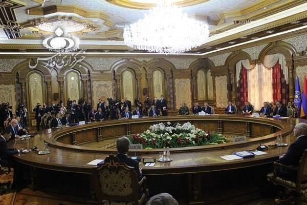 نشست سازمان پیمان جمعی با صدور یک بیانیه پایان یافت +عکس