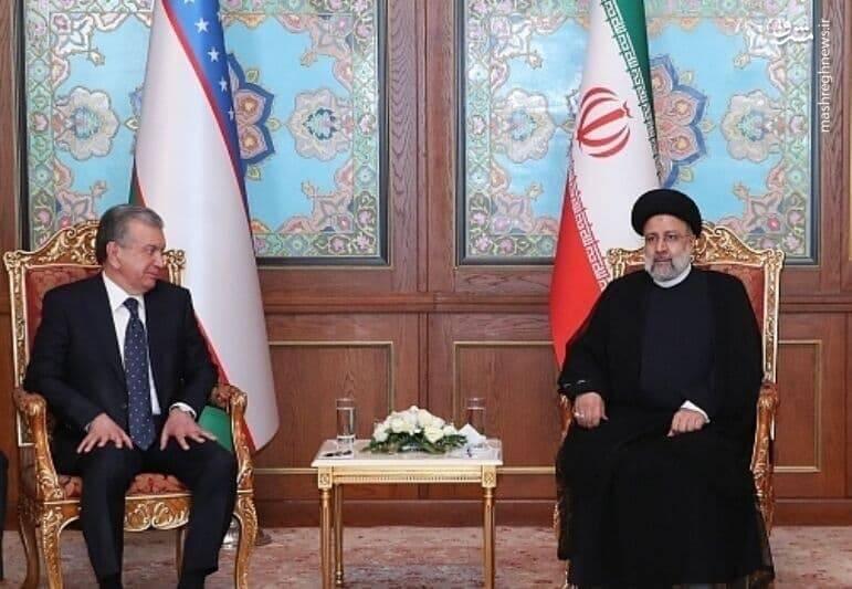 در دیدار رئیسی و رئیس جمهور ازبکستان چه گذشت؟