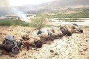 سجده رزمندگان یمنی پس از پیروزی بزرگ +عکس
