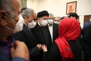 عکس/ دیدار ایرانیان مقیم تاجیکستان با رئیسی