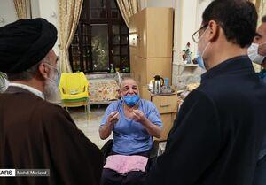 روایت قاضیزاده هاشمی از ایثار جانبازان +عکس