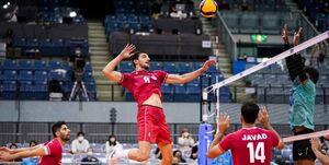 حضور بیدردسر والیبال ایران در نیمهنهایی