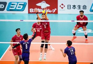 والیبال قهرمانی آسیا| چین حریف ایران در نیمهنهایی شد