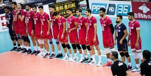 برنامه بازیهای مرحله نیمهنهایی والیبال قهرمانی آسیا مشخص شد