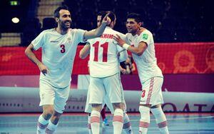 برتری یک نیمه ای تیم ملی فوتسال ایران مقابل آمریکا