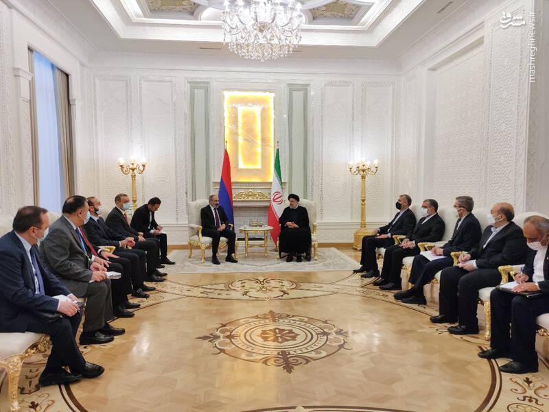 دیدار رئیسجمهور ایران با نخست وزیر ارمنستان