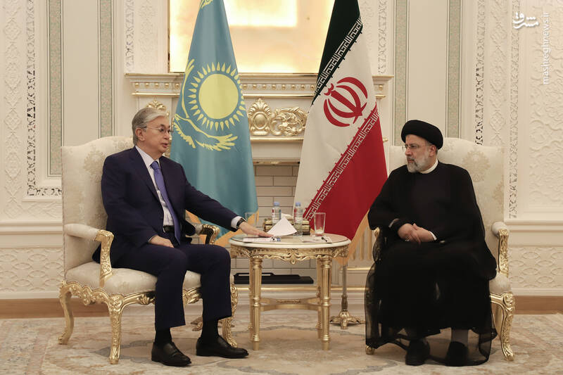 دیدار رئیس جمهور قزاقستان با رئیسی