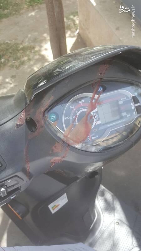 حمله دو زورگیر مسلح به سردبیر مشرق +عکس