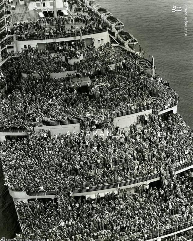 تصویری خاص و بینظیر از جنگ جهانی دوم