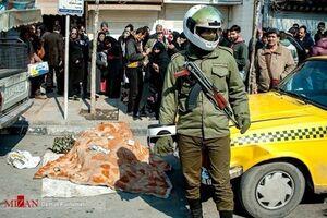 واژگونی موتورسیکلت در خیابان اندرزگو تهران