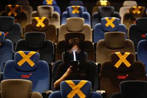 بازگشایی دوباره سینماها در شهر جاکارتا اندونزی