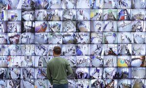 مانیتورهای نظارت بر مراکز رای گیری انتخابات روسیه