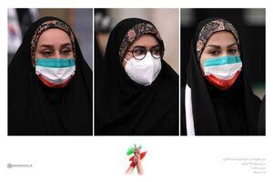عکس/ بانوان مدالآور ایران در دیدار با رهبر انقلاب