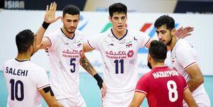 تیم ملی والیبال به فینال قهرمانی آسیا رسید