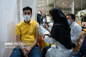 آغاز واکسیناسیون شبانه در اراک