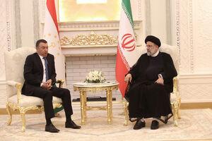عکس/ دیدار نخست وزیر تاجیکستان با رئیسی