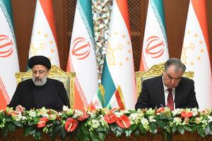 عکس/ امضای اسناد همکاری میان ایران و تاجیکستان