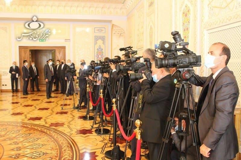 دیدار رسمی روسای جمهور ایران و تاجیکستان در «دوشنبه» +عکس