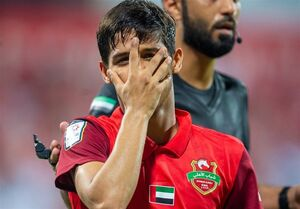 لیگ امارات  دبل یک نیمهای قایدی، شکست شباب الاهلی را به پیروزی تبدیل کرد