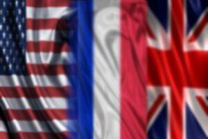 فرانسه انگلیس آمریکا
