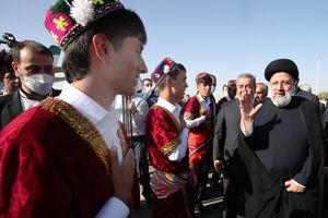 عکس/ حاشیههای سفر رئیسی به شهر کولاب