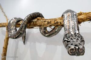 عکس/ باغ موزه فلزی دیدنی ایران