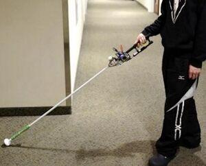عصای الکتریکی برای نابینایان