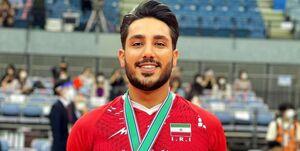 والیبال قهرمانی آسیا| اقدام ارزشمند قلیپور/ماجرای عکسی که در دست لیبروی ایران بود