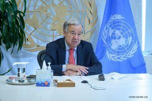 تاکید دبیرکل سازمان ملل بر برقراری ارتباط با طالبان