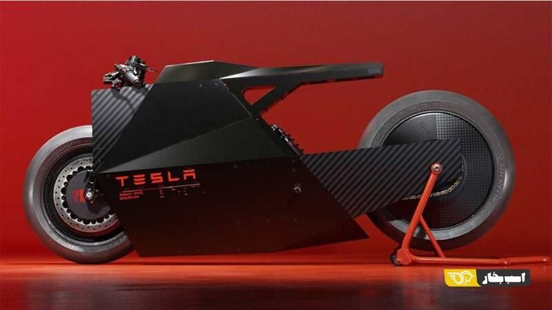 اگر تسلا موتورسیکلت بسازد چگونه خواهد بود؟ +عکس