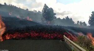 فوران آتشفشان در جزایر قناری
