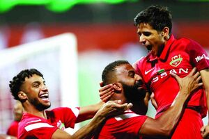قایدی در تیم منتخب هفته لیگ امارات