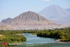 عکس/ طولانی ترین رود ایران را دیدهاید؟