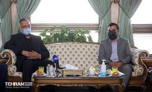 عکس/ دیدار وزیر ارتباطات با شهردار تهران