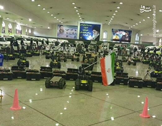 نمایشگاه خودکفایی و الحاق تجهیزات چک و خنثی سازی سپاه افتتاح شد