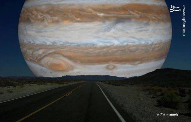 اگر مشتری همسایه زمین بود، آسمان چه شکلی میشد؟ +عکس