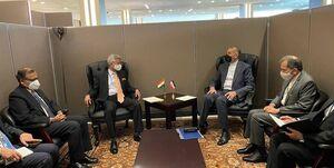 عکس/ دیدار امیرعبداللهیان با وزیر امور خارجه هند