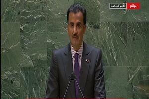تاکید امیر قطر بر گفتگو با ایران برای حل اختلافات