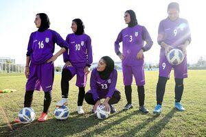 برتری پرگل بانوان فوتبال ایران مقابل بنگلادش